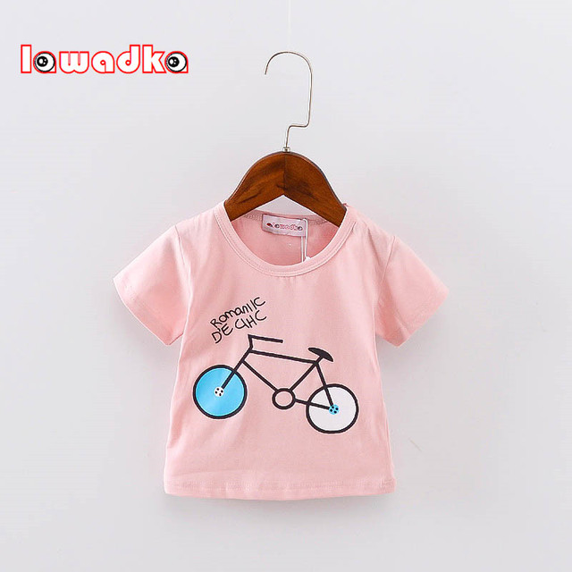 Baby's Bicycle Printed Cotton T-Shirt 2