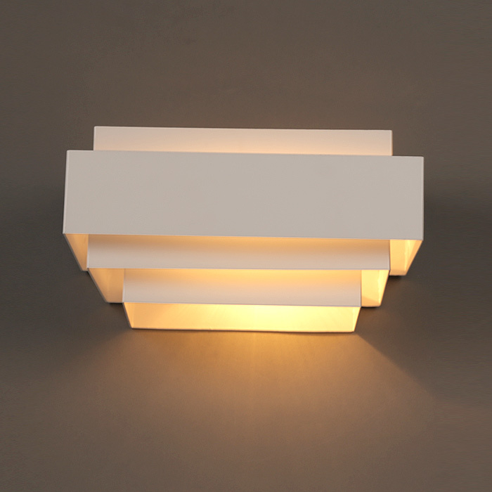Contemporary Bedroom Wall Lights: Aliexpress.com : Buy Modern White Box Wall Lamps Bedroom