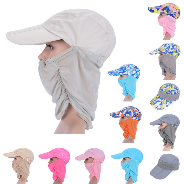3a3379a8a24 Multifunction Men Women Outdoor Quick Drying Sun Cap Sunshade Fishing Hats  Breathable UV Protection Visors With