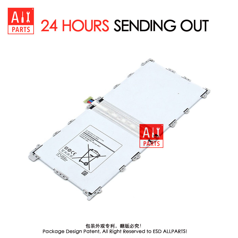 Allparts 100 Tested T9500C 9500mAh For Samsung Galaxy Tab Note Pro 12 2 inch SM P900