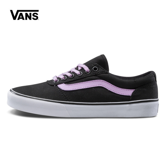 7e840cc724 Black Purple Vans Sneakers Women s Active Maddie Low-top Skateboarding  Shoes Sport Outdoor Sneakers Canvas Shoes VN0A3IL27HD