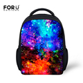 Fashion Little Girls Backpack Galaxy Star Universe Space for Children High Quality Student Kids School Backpack Mochila infantil