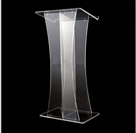 Acrylic Church Lectern, Acrylic Podium Pulpit Desktop Lectern Plexiglass