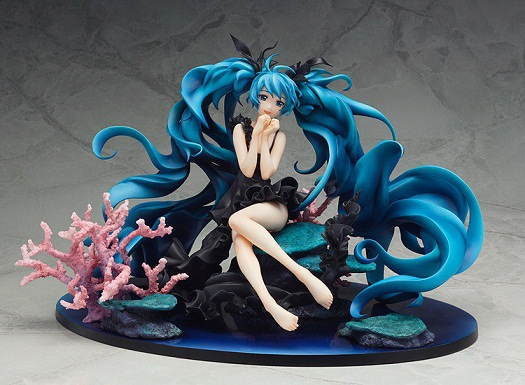 Vocaloid Hatsune Miku Deep Sea PVC Action Figure Model Collection Toy 18CM New Hot Sale hot sale hatsune miku figure 24cmpvc tetsuya nomura comic figure animation periphery cute girl model freeshipping
