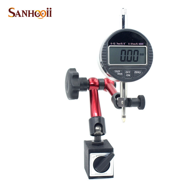 Magnetic Inclination Measuring Instrument For : Sanhooii mm dial indicators metal magnetic