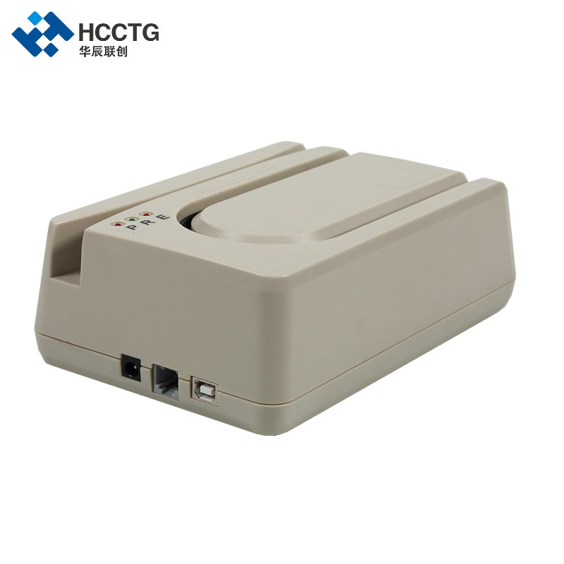 1 piece E13B MICR reader (check reader), with 1/2/3 Magstrip card reader module--HCC1250
