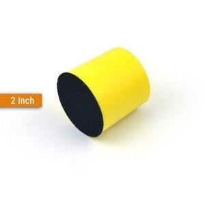 Image 2 - Tampons de ponçage à dos, à crochet et boucle, toutes tailles, disques abrasifs, papier de verre pour outils manuels de polissage