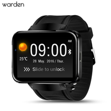 Warden DM98 Men Smart Watch Android 4.4 Smartwatch Phone Bluetooth 4.0 MTK6572 Wristwatch WiFi GPS Watch For ios Android phone