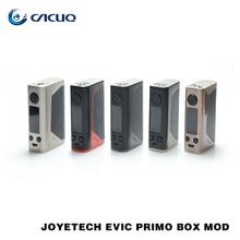 100% origianl caja primo ajuste mod joyetech evic joyetech unimax 25 primo evic atomizador vaping kit evic primo tc caja mod 200 w