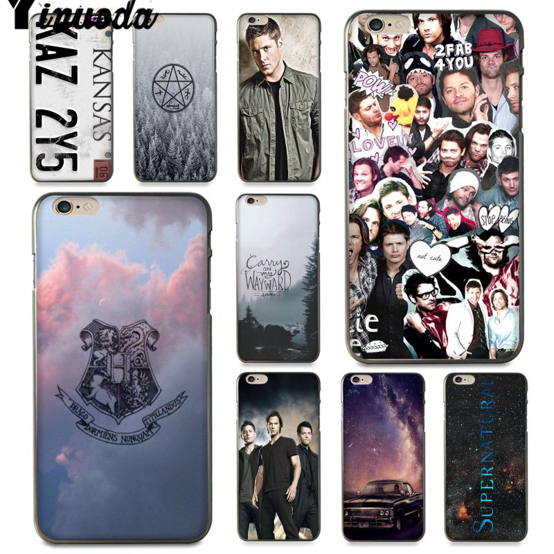 Yinuoda For iphone 7 6 X Case Supernatural Jared Padalecki Phone Case for iPhone 6S 6plus 7 7plus 8 8Plus X 5 5S XS XR XSMAX image