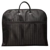 Suit Cover Light Weight Black Red Oxford Business Dress Garment Bag Waterproof Suit Bag Vertical Stripe