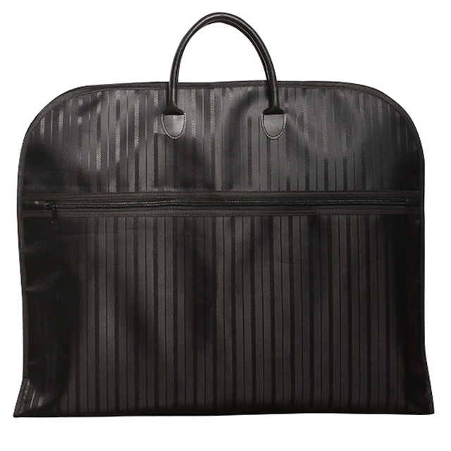 fashion garment bag 600D cloth Cover Black red oxford Business Dress Bag  Waterproof Suit Bag Vertical stripe men travel bag ce0e86e91b62c