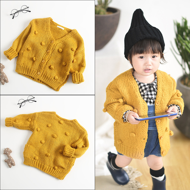 4d2a598028bb Sweater For Girls Children s Wear Sweater Girl Baby Cotton Knit ...
