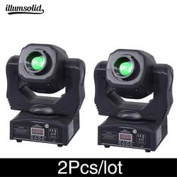 2 шт./лот, высокая яркость, движущаяся головка, 60 Вт, ktv dj gobo light spot club night light