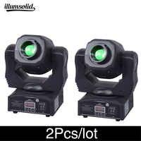 2 pz/lotto di Alta luminosità moving head spot 60w ktv dj gobo luce Spot club luce di notte