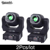 2Pcs/lot High brightness moving head spot 60w ktv dj gobo light Spot club night light