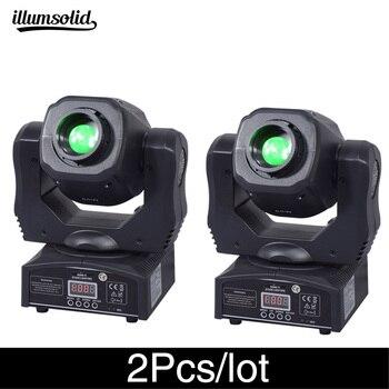 цена на 2Pcs/lot High brightness moving head spot 60w ktv dj gobo light  Spot club night light