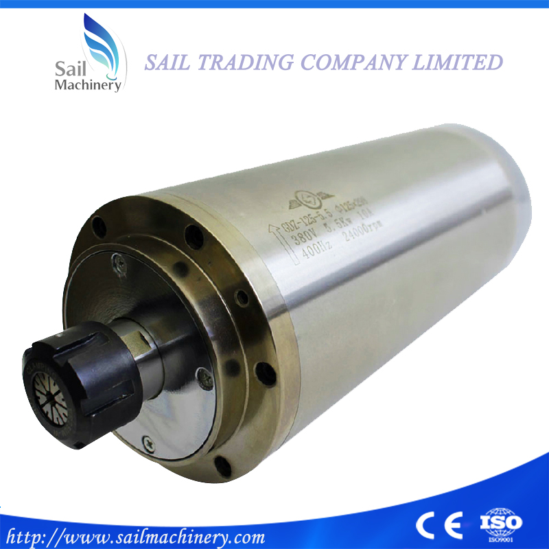 Water cooled CNC Router spindle motor ER25, 5.5kw 380V 24000rpm for Engraving Wood Stone,fast shipping(DHL/EMS/Fedex) dhl ems ham4 zem2 9930 7000 0310 for dmc cs b803 st electronics