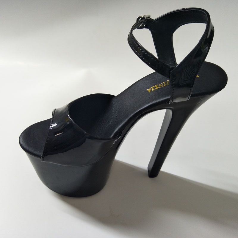 4ccceb9889ea LAIJIANJINXIA 7 Inch Sexy Clubbing High Heels Zip Platform Fashion Rome  Gladiator Shoes 17cm Exotic Dancer Shoes Strappy Sandals-in High Heels from  Shoes on ...