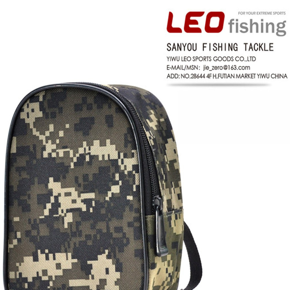 Creative Portable Fishing Spinning Reel Pouch Case Lure Fishing Protective Bag Road Fishing Gear Cover Security & Protection