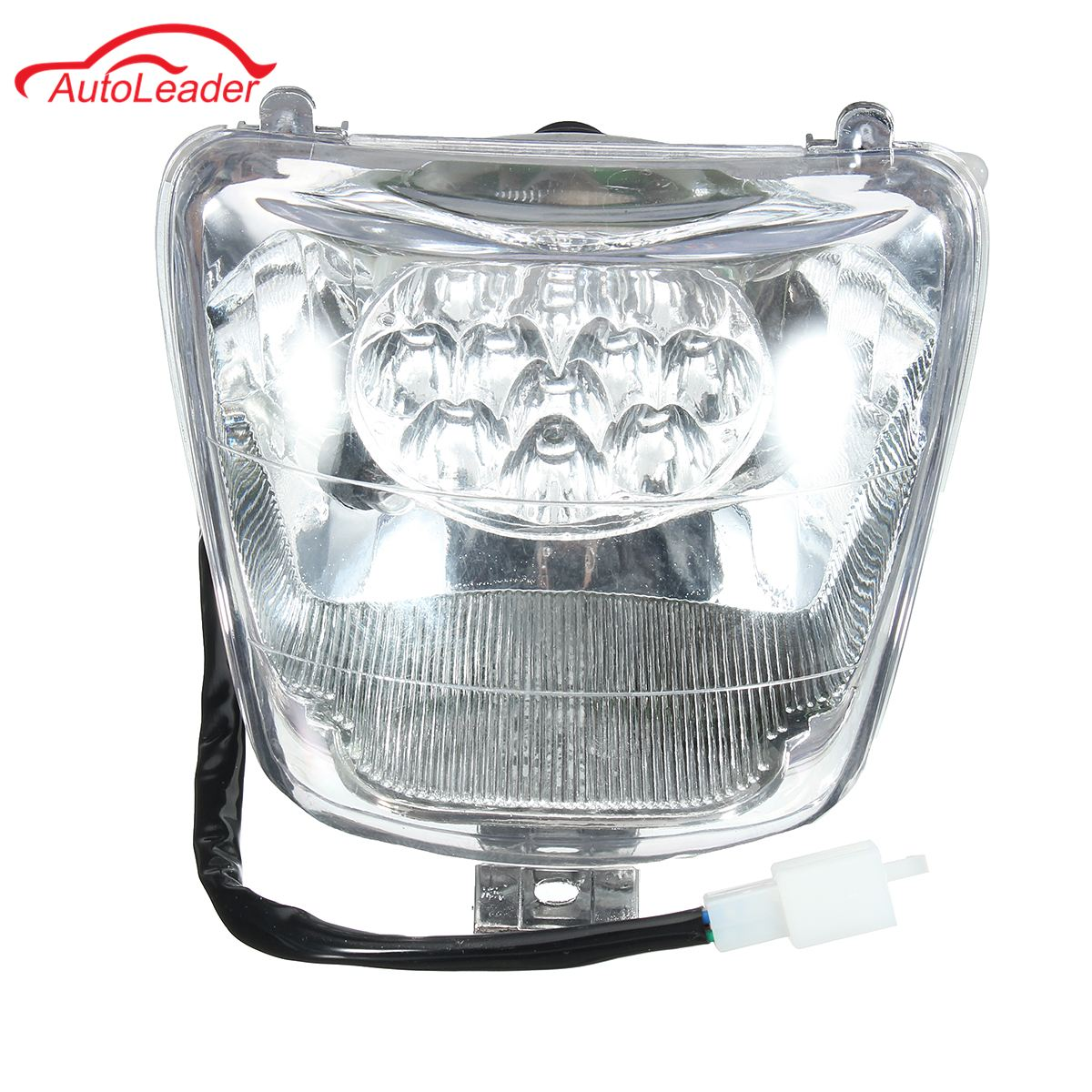 HEADLIGHT spot light 5 WIRE ATV 110CC 125CC 150CC 250cc ATV Taotao bulb included