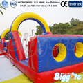 Free Sea Shipping Amazing Inflatable Backyard Obstacle Course Game For Birthday Party With Free Air Blowers