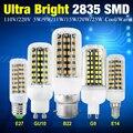 Cheap E14/E27/G9/GU10/B22 2835 LED Corn Bulb Lamp AC 220/110V 5W 9W 11W 20W 25W Christmas Lampada Led Chandelier Candle Lighting