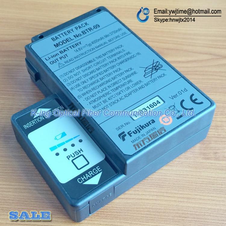Origine Fujikura BTR-09 Batterie Pack pour Fujikura FSM-70S fsm-80S FSM-62S FSM-61S Fiber Épissurage