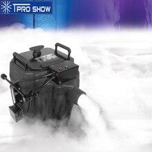 DJ maszyna do mgły nisko leżący 3500W Nimbus suchy lód maszyna do dymu Party parkiet weselny oświetlenie pokaż dekoracji pokryte 200 mkw