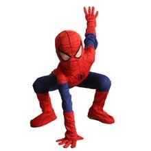Полный Ребенок Мальчик Marvel Классический Окончательный Человек-Паук Хеллоуин Костюм Супергероя