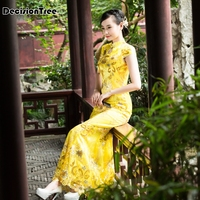 2019 chinese dress short qipao wedding plus cheongsam women sexy lace qi pao traditional evening gown