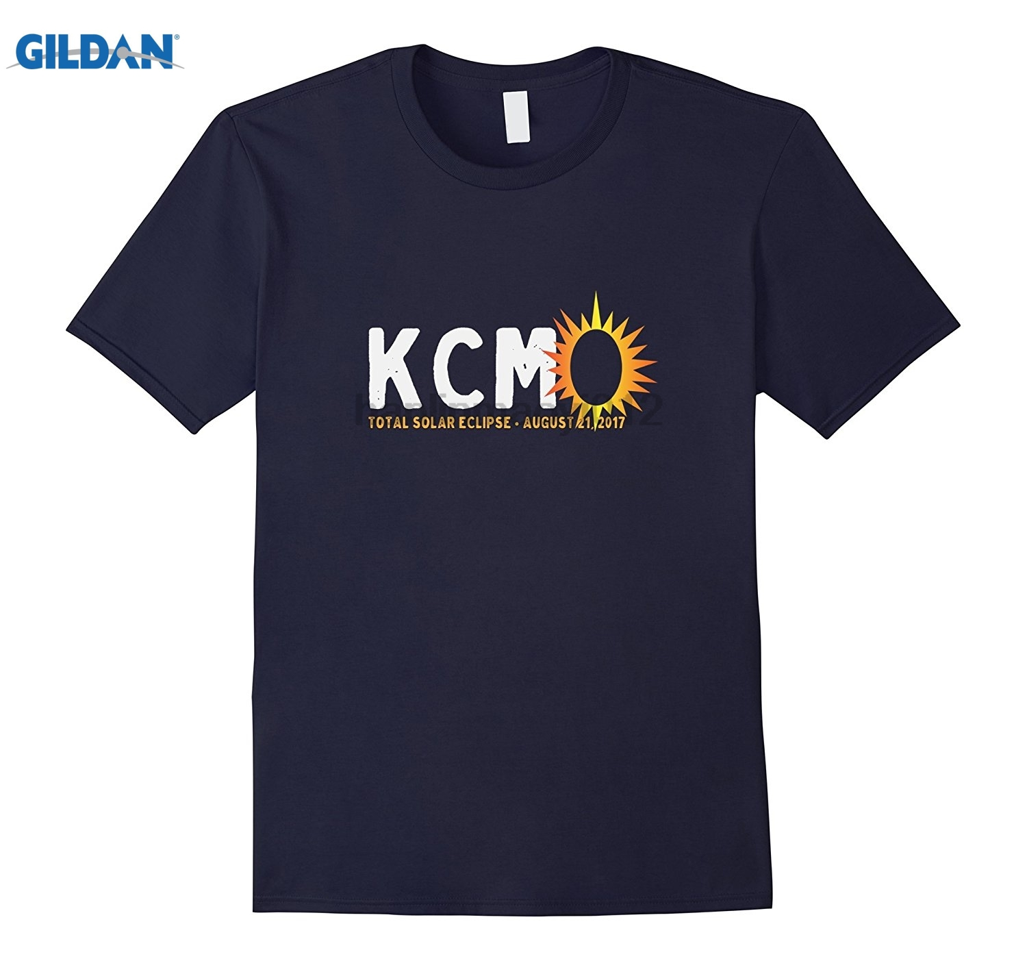 GILDAN KCMO Total Eclipse T-shirt Mothers Day Ms. T-shirt summer dress T-shirt Womens T-shirt