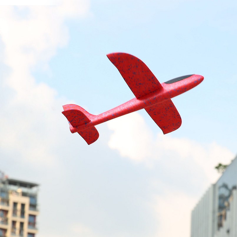 Avion en mousse à inertie, jouet d'avion EPP, modèle d'avion, jouets éducatifs et éducatifs, lancement de la main, 38cm de bonne qualité 4