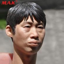 New 1:6 Scale Male Head Sculpt as Realistic Facial Head Model fit 12