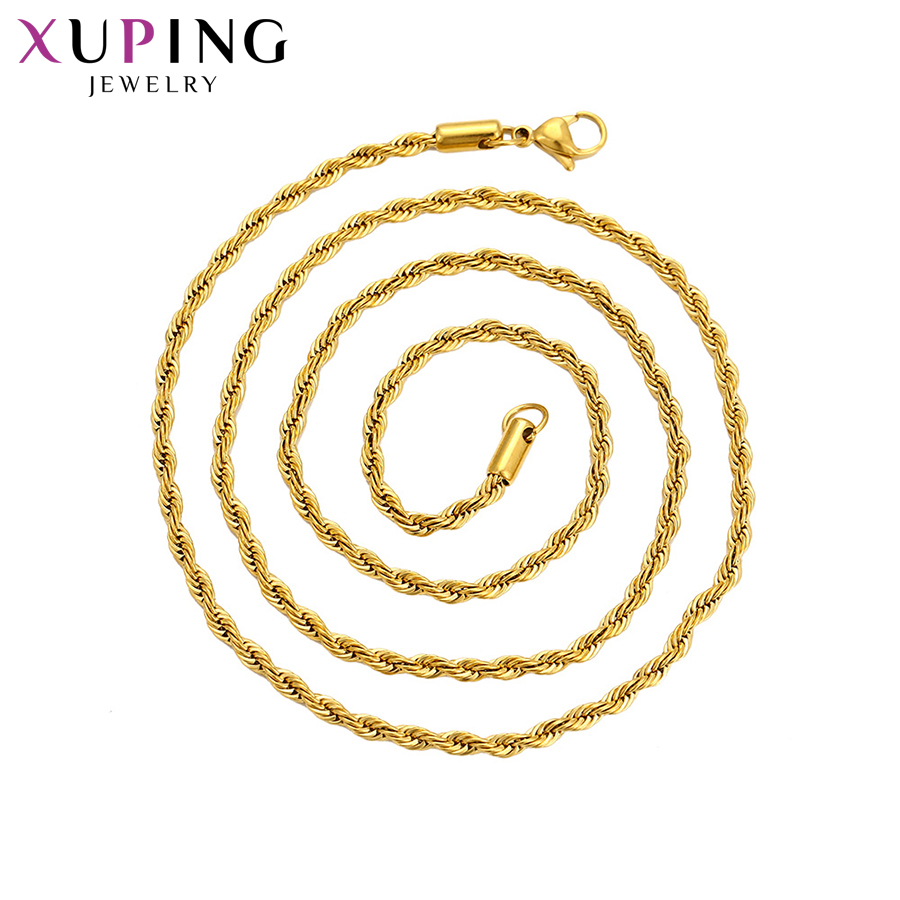 ELEGANT GOLD Tone LINK  CHAIN NECKLACE 2 Layer  GIFT HOLIDAY LADIES TT8