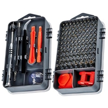 112 In 1 Screwdriver Set Magnetic Screwdriver Bit Torx Multifunction Computer Phone Repair Tool Kit Electronic Device Hand Too 8 in 1 rubber handle multifunction foldable screwdriver set hand tool