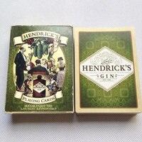 Классические игральные карты Liene Finish карточка для игры в покер HENDRICK'S GIN черная гильзовая бумага карты развлечения Питьевой Игры покер