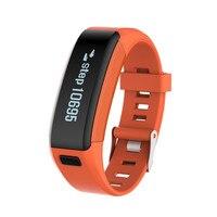 KINCO Bluetooth Exercise Pedometer Bracelet Step Calorie Heart Rate Detection Sleep Monitor Call Alert Smart Wristband
