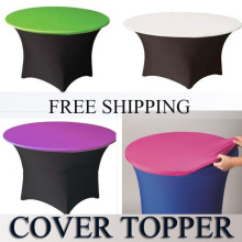 5feet  lycra top cover,spandex table topper,table cover