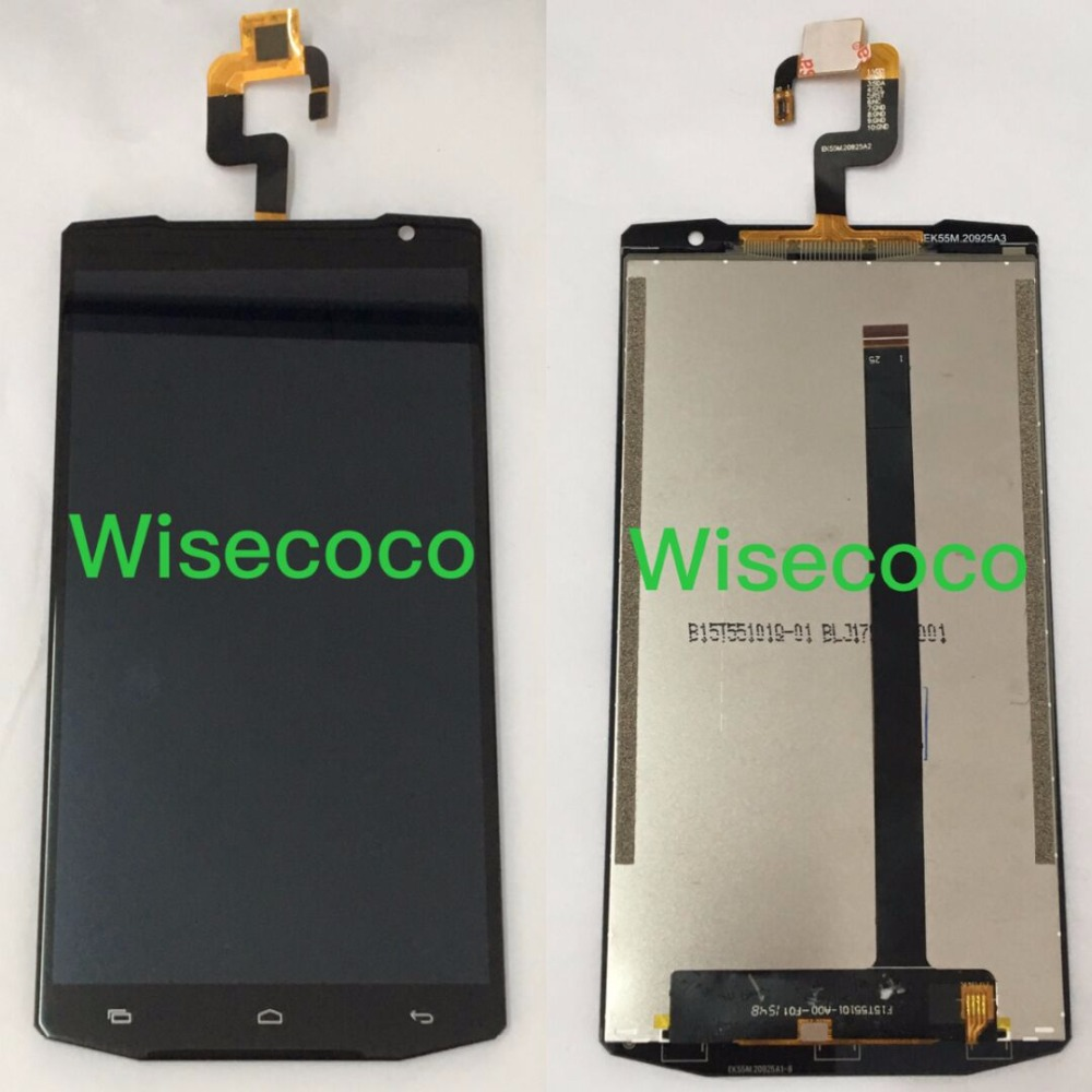 Oukitel K10000 LCD Display Touch Screen 100 Original Screen Digitizer Assembly Replacement For Oukitel K10000 Cell