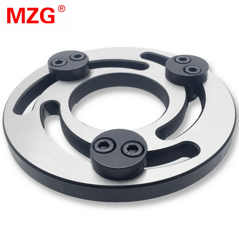 MZG 5 6 10 8 Inch Adjustable Soft Jaw Boring Ring for CNC Lathe Chuck Machine Center Turning Cutting Tool Holders mzg 8 inch 95 35 60 heightening hollow soft jaw for cnc lathe boring holders cutting tool hole machining