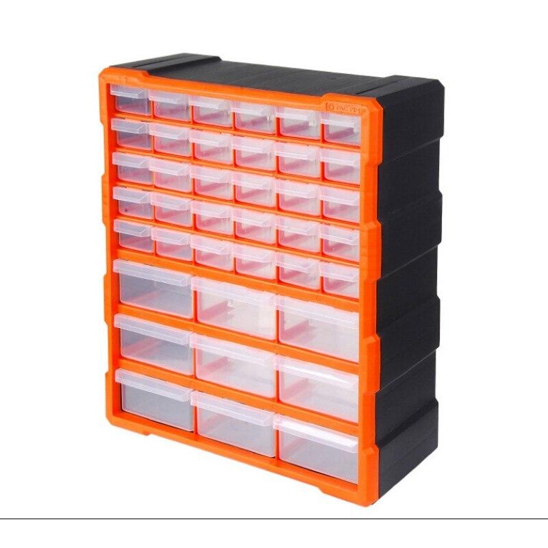 Maleta de ferramentas caixa de Peças de Classificação da arca de Multi-grade gaveta tipo blocos de Construção Parafuso caixa de classificação caixa de Componente