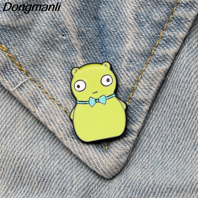 ee707e9767 Dongmanli Bob s Burgers Brooch Cute Kuchi Kopi Cartoon Enamel Pins For  Women Men Backpack Pins Personality