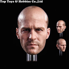 GACtoys GC023 1/6 Jason Statham Head Sculpt Fast and Furious 8 Death Squads Carving for 12 Action Figure body Doll