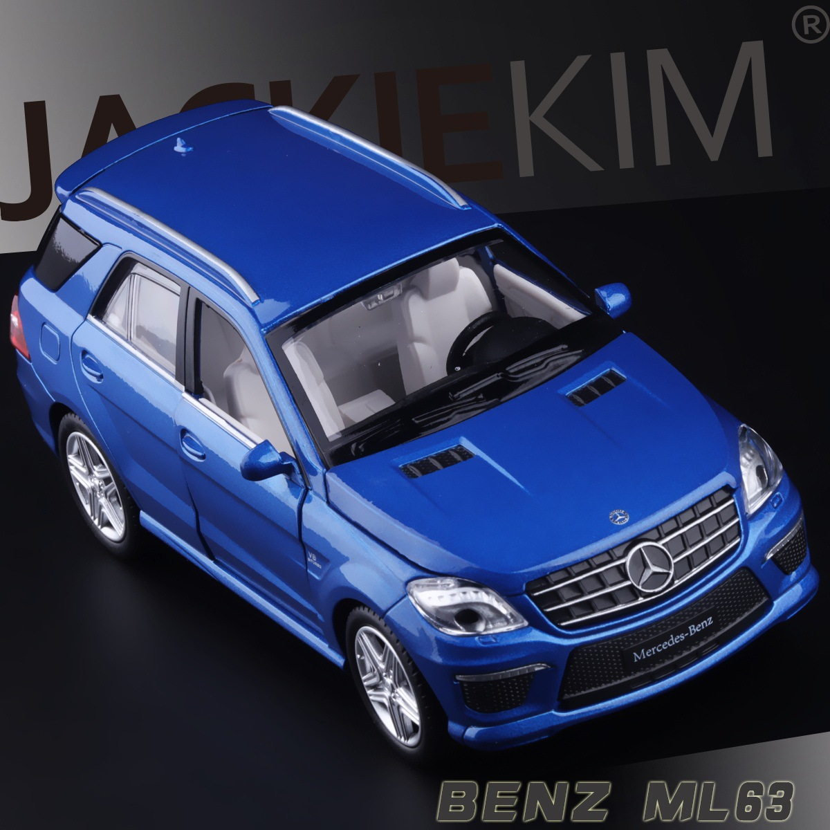 Free Shipping licensed 1 32 Benz ML63 four open door warrior alloy models of children s
