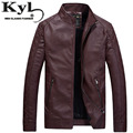 2016 Black Leather Jackets For Men Winter Fur Slim Fit Pu Jacket  Chaquetas De Cuero Male Fashion Motorcycle Coat 602