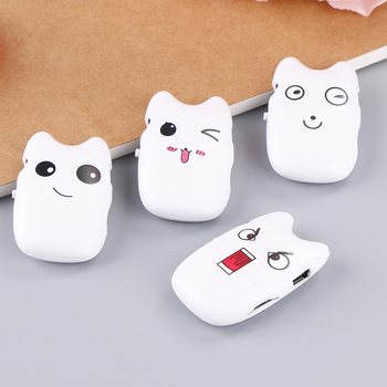 4 Styles Cute USB 2.0 Cartoon Mini MP3 Player Music Player Support Micro SD TF Card image