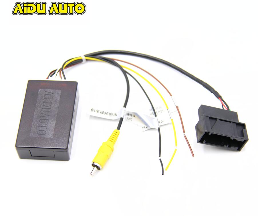 RGB to AV CVBS Signal Converter Adapter Box For Original RGB Camera RCD330