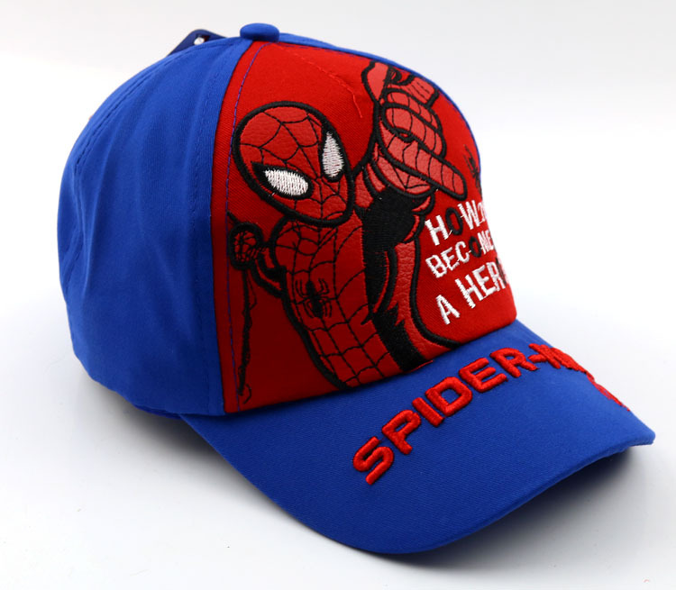2018 Spiderman Cap For Kids Boys Girls Hat New Arrival Children Baseball  Caps G026 50 to 54cm -in Baseball Caps from Men s Clothing   Accessories on  ... 19402fa28eb