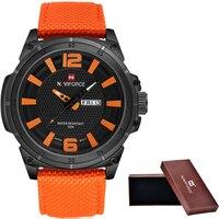 2016 New Style Men S Brand Watches 3D Scale Fashion Quartz Watch Men Dive 30M Nylon